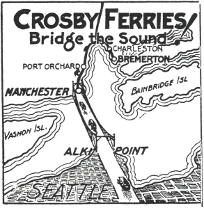 1925 Crosby Ferries cartoon